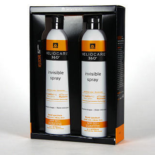 Heliocare 360 Spray Invisible SPF 50 Pack Duplo