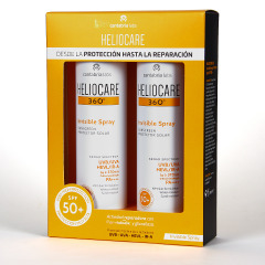 Heliocare 360 Spray Invisible SPF 50 Pack Duplo