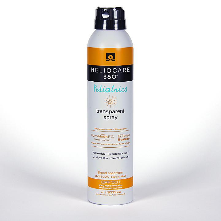 Heliocare 360º Pediatrics Spray transparente SPF 50 200 ml