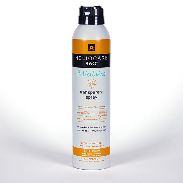 Heliocare 360º Pediatrics Spray transparente SPF 50 200 ml