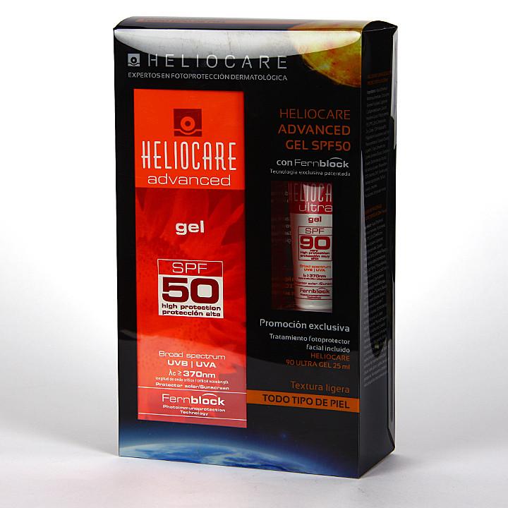 Heliocare SPF 50 Gel 200 ml + Ultra Gel SPF90 25 ml Pack