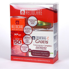 Heliocare Advanced XF gel SPF 50 Pack + Endocare GelCream + Endocare-C oil free 7 ampollas