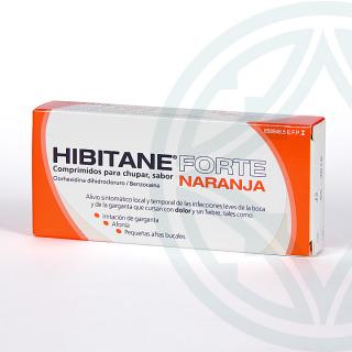 Hibitane Forte 20 comprimidos sabor naranja