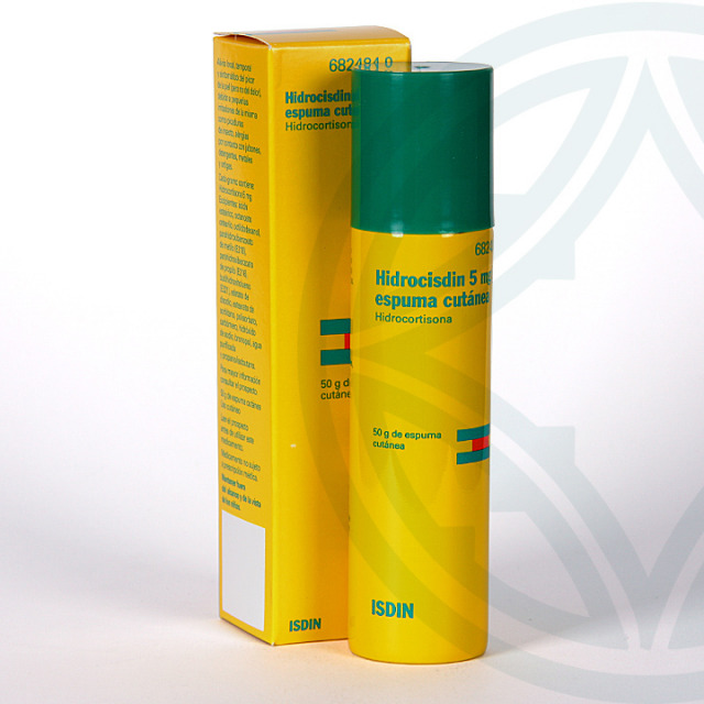 Hidrocisdin espuma cutánea 50 g