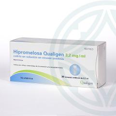 Hipromelosa Qualigen colirio 30 envases unidosis