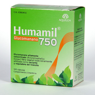 Humamil® Glucomanano 750 90 cápsulas
