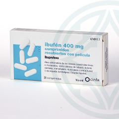 Ibufen 400 mg 20 comprimidos