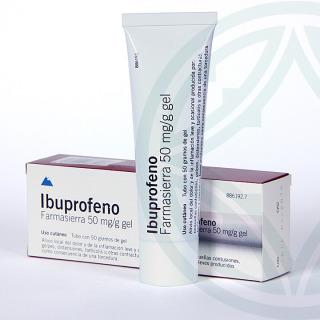 Ibuprofeno Farmasierra gel 50 g