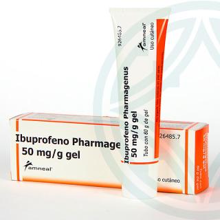 Ibuprofeno Pharmagenus 50 mg/g gel tópico 60 g