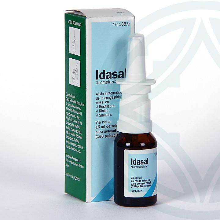 Idasal nebulizador nasal 15 ml