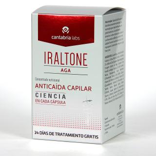 Iraltone AGA anticaída 60 cápsulas + 14 cápsulas de regalo