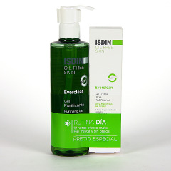 Isdin Everclean Gel purificante + Gel crema Ultra Matificante Pack