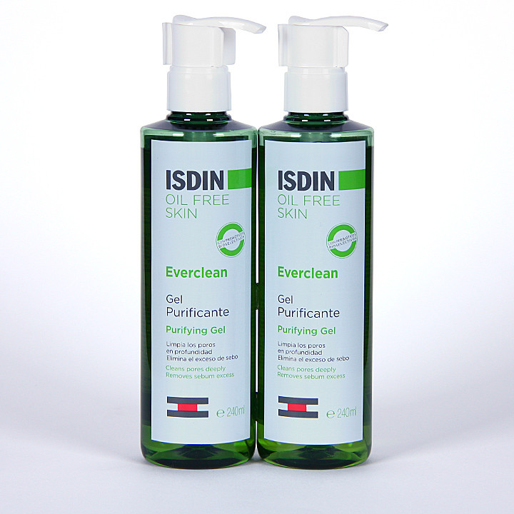 Isdin Everclean Gel purificante Pack Duplo
