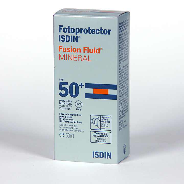 Isdin Fotoprotector Fusion Fluid Mineral SPF 50+ 50 ml