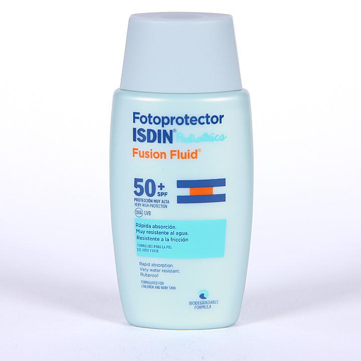 Fotoprotector Isdin Pediatrics Fusion Fluid 50+ 50 ml