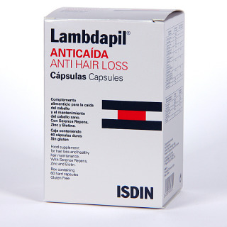 Isdin Lambdapil Anticaída 60 cápsulas