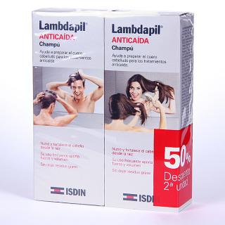 Isdin Lambdapil Anticaída Champú 200 ml Promoción Duplo