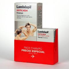 Isdin Lambdapil Anticaída Champú 400 +100 ml Pack Viaje