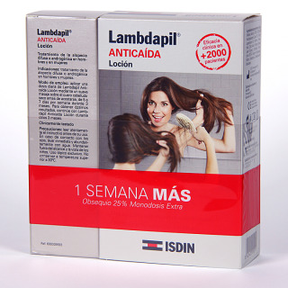 Isdin Lambdapil Anticaída Loción 20 monodosis + 5 gratis
