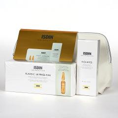 Isdinceutics Flavo-C Ultraglican 30 ampollas + K-Ox Contorno 15 ml Pack
