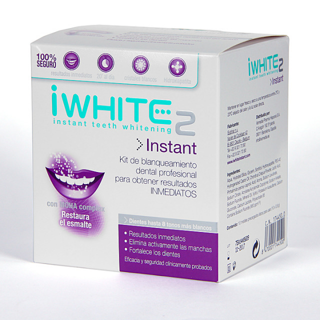 Iwhite Instant 2: Kit Blanqueamiento Dental Instantáneo