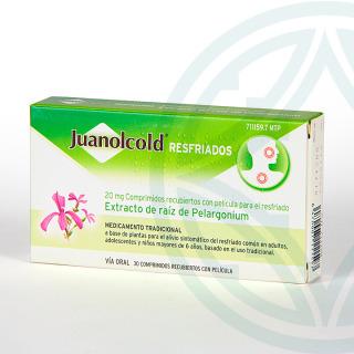 Juanacold Resfriados 30 comprimidos
