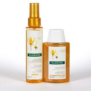 Klorane Aceite Protector Capilar Ylang Ylang 100 ml + Champú Ylang 100 ml Regalo