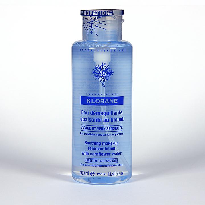 Klorane Agua Desmaquillante calmante 400 ml