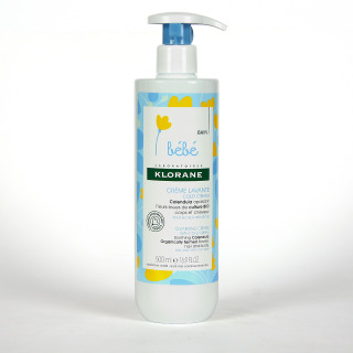 Klorane Bebé Crema Limpiadora 500 ml