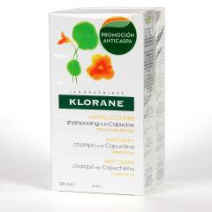 Klorane Capilar Champú Capuchina 200 ml Pack Duplo