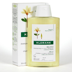 Klorane Capilar Champú Cera de Magnolia 200 ml
