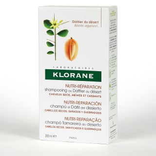 Klorane Capilar Champú Dátil del Desierto 200 ml