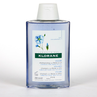 Klorane Capilar Champú Fibras de Lino 200 ml