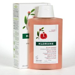 Klorane Capilar Champú Granada 200 ml