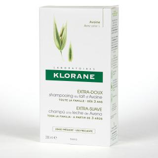 Klorane Capilar Champú Leche de Avena 200 ml
