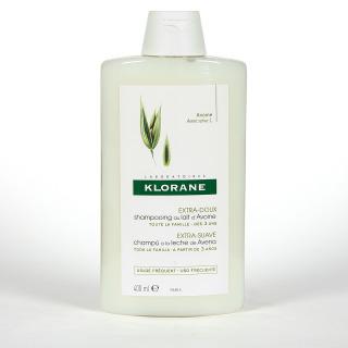 Klorane Capilar Champú Leche de Avena 400 ml