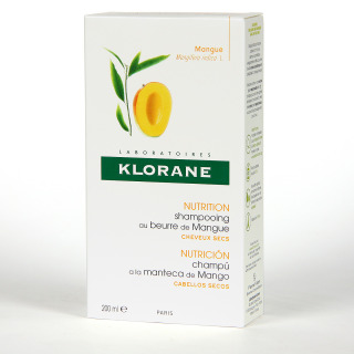 Klorane Capilar Champú Manteca de Mango 200 ml