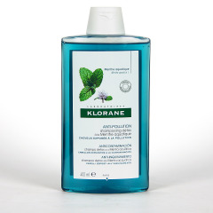 Klorane Capilar Champú Menta Acuática 400 ml