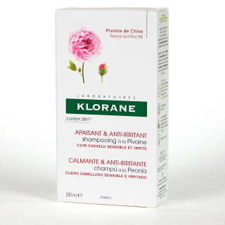Klorane Capilar Champú Peonía 200 ml