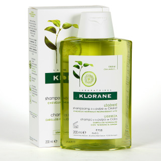 Klorane Capilar Champú Pulpa de Cidra 200 ml