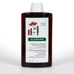 Klorane Capilar Champú Quinina con Vitaminas B 400 ml