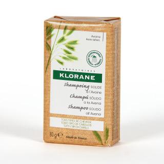 Klorane Capilar Champú Sólido a la Avena 80 g