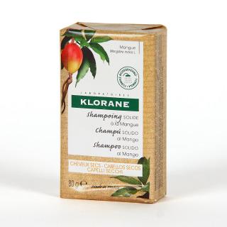 Klorane Capilar Champú Sólido al Mango 80 g