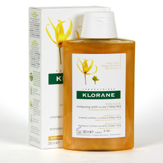 Klorane Capilar Champú Ylang Ylang 200 ml