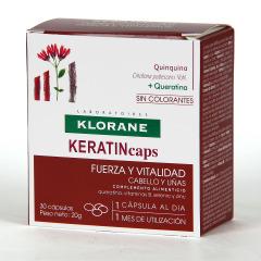Klorane Capilar Keratincaps 30 Cápsulas Anticaída