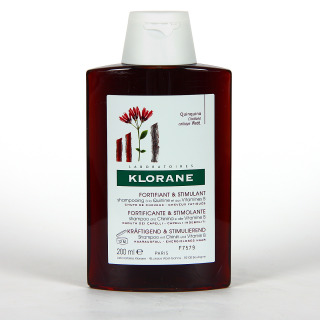 Klorane Capilar Champú Quinina con Vitaminas B 200 ml