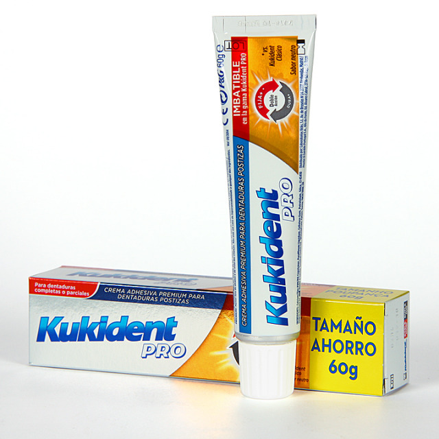Kukident Pro Doble Acción 60 g