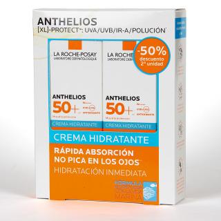 La Roche Posay Anthelios Crema Hidratante SPF50+ Duplo 2x50 ml