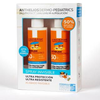 La Roche Posay Anthelios Dermo-Pediatrics Spray Invisible SPF50+ Duplo 2x200 ml