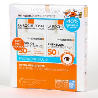 La Roche Posay Anthelios Dermopediatrics Fluido Hidratante SPF 50+ 50x50 ml Pack Duplo